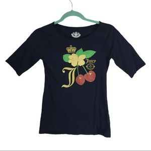 Juicy Couture Graphic T-Shirt Size 12